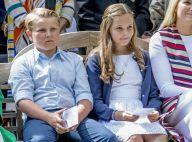 Sverre Magnus de Norvège, 11 ans : Le prince s'est cassé la cheville