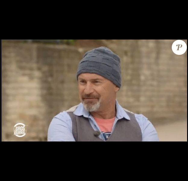 """Vincent Lagaf' dans """"Le Gros Journal"""", le 5 avril 2017 sur Canal+."""