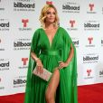 Zuleyka Rivera à la conférence de presse Billboard Latin Music Awards à Miami, le 28 avril 2016.