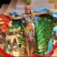 Zuleyka Rivera, Miss Porto Rico, est élue Miss Univers 2006. Shrine Auditorium, Los Angeles, le 23 juillet 2006.