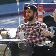 Miley Cyrus et son compagnon Liam Hemsworth à Malibu le 6 janvier 2017