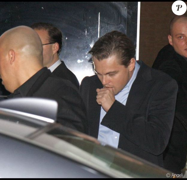 Leonardo DiCaprio arrive à Berlin pour la 59e Berlinale