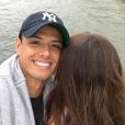 """"""" Javier 'Chicharito' Hernandez et Andrea Duro ont officialisé leur histoire d'amour sur Instagram début août 2017, quelques jours après cette photo mystère. """""""