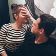 """""""Javier 'Chicharito' Hernandez et Andrea Duro ont officialisé leur histoire d'amour sur Instagram début août 2017 par le biais de cette photo."""""""