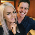 """Johnny Ruffo et sa petite amie Tahnee Sims, photo Instagram juillet 2017."""
