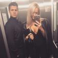 Johnny Ruffo et sa petite amie Tahnee Sims, photo Instagram mai 2017.
