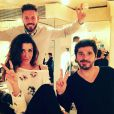 "M. Pokora, Jenifer et Patrick Fiori en coulisses de ""The Voice Kids 3"""