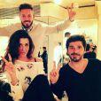 """M. Pokora, Jenifer et Patrick Fiori en coulisses de """"The Voice Kids 3"""""""