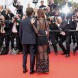 """Thomas Hollande et sa compagne Emilie Broussouloux - Montée des marches du film """"L'Amant Double"""" lors du 70ème Festival International du Film de Cannes. Le 26 mai 2017. © Borde-Jacovides-Moreau/Bestimage"""