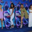 Fifth Harmony (Ally Brooke, Normani Kordei, Dinah Jane, Lauren Jauregui) -Cérémonie des Teen Choice Awards 2017 au Galen Center à Los Angeles, le 13 août 2017. © Birdie Thompson/AdMedia/Zuma Press/Bestimage