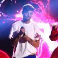 Louis Tomlinson et Bebe Rexha - Cérémonie des Teen Choice Awards 2017 au Galen Center à Los Angeles, le 13 août 2017. Crédits Frank Micelotta/FOX/PictureGroup/ABACAPRESS.COM