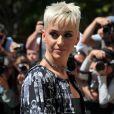 Katy Perry au défilé Chanel à Paris. Le 3 juillet 2017.