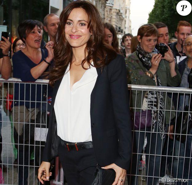 Audrey Dana - Arrivées à l'avant-première du film 'Sous les jupes des filles' à l'UGC Normandie sur les Champs Elysées à Paris le 2 juin 2014.