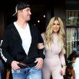 Kim Zolciak et son mari Croy Biermann sont allé déjeuner à Beverly Hills, le 15 octobre 2016