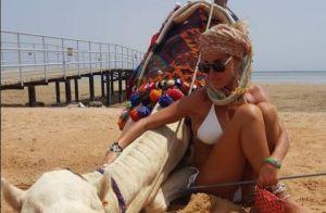 Ophélie Winter : Sublime à la plage, elle prend du repos avec son nouvel