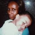 Photo d'Iman Bowie et sa fille Alexandria Zahra Jones. Mai 2017.