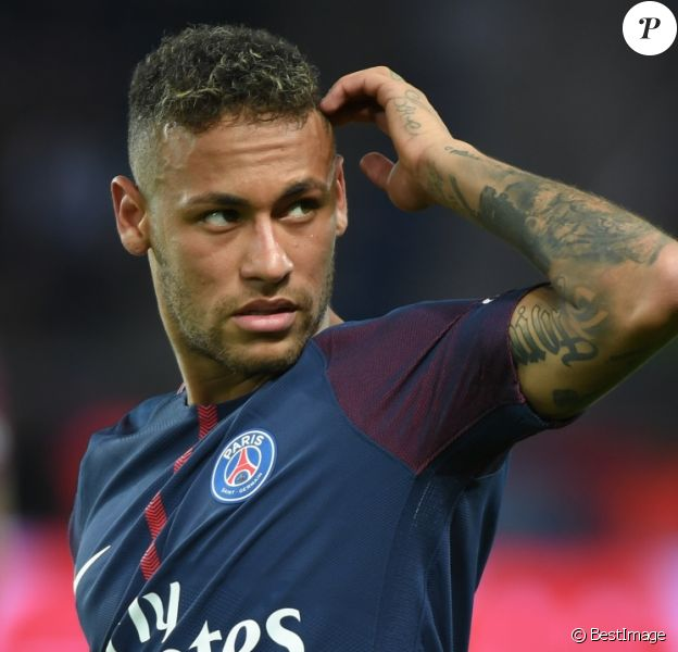 Neymar Jr. - Match de Ligue 1, Paris Saint-Germain (PSG) contre Toulouse FC (TFC) au Parc des Princes à Paris, France, le 20 août 2017. Le PSG a gagné 6-2. © Lionel Urman/Bestimage