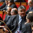 David Douillet lors de la séance des questions au gouvernement à l'Assemblée Nationale à Paris, le 7 février 2017.