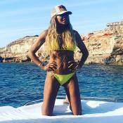 Cathy Guetta : Détendue en maillot, la reine d'Ibiza est canon !