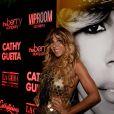 Exclusif - Cathy Guetta au VIP Room à Saint-Tropez le 30 juillet 2017. © Rachid Bellak/Bestimage