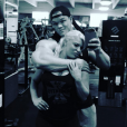 Photo de Dallas McCarver et sa compagne Dana Brooke. Juin 2017.