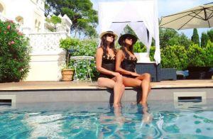 Karine Ferri sublime en maillot de bain : Elle présente sa