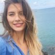Camille Cerf sur une photo publiée sur Instagram le 15 août 2017