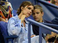 Victoria Beckham : Stylée avec son fils Romeo à l'US Open