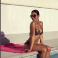 Georgina Rodriguez, compagne de Cristiano Ronaldo. Photo Instagram 2016.