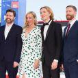 """Charlie Plummer, Chloë Sevigny et Andrew Haigh à la première du film """"Lean on Pete"""" lors du 74ème Festival International du Film de Venise (Mostra) le 1er septembre 2017"""