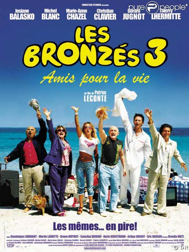 """L'affiche des """"Bronzés 3"""""""