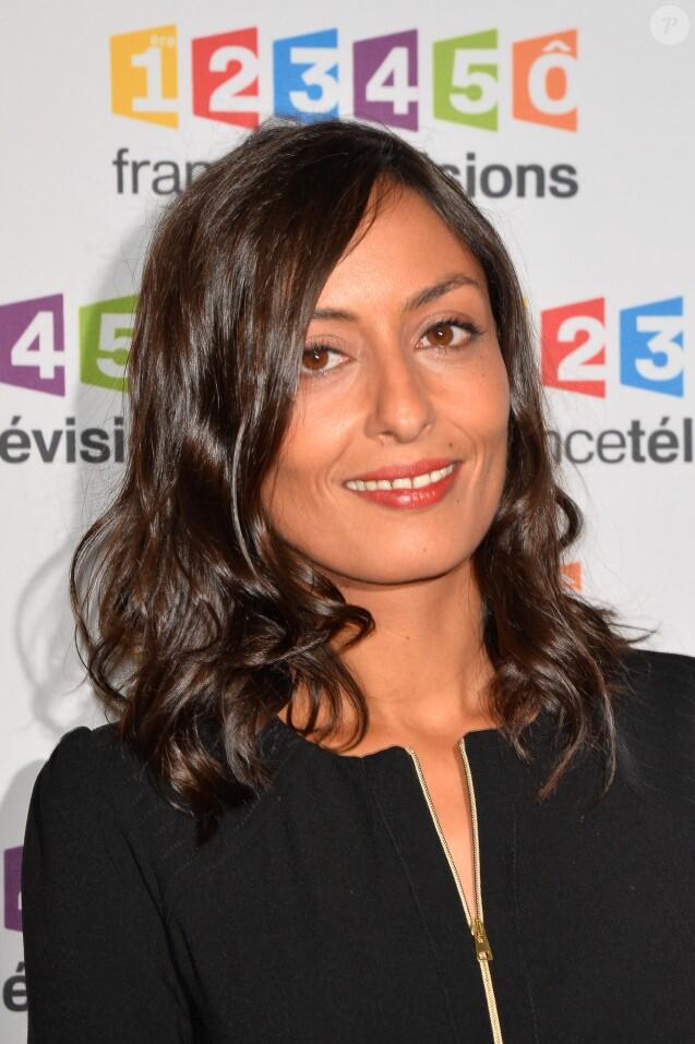 Leila Kaddour lors du photocall de la présentation de la nouvelle dynamique 2017-2018 de France Télévisions. Paris, le 5 juillet 2017. © Guirec Coadic/Bestimage