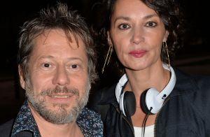 Mathieu Amalric, Jeanne Balibar : Ancien couple complice et les larmes aux yeux
