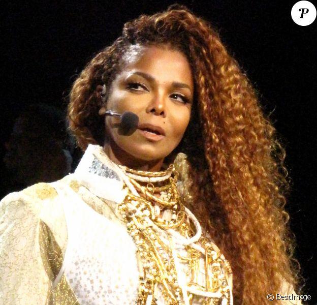 Janet Jackson en concert à Vancouver le 31 août 2015.