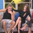 """Bryan, Jordan, Julie et Charlène - """"Secret Story 11"""" sur NT1. Quotidienne du 8 septembre 2017."""