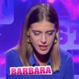 """Barbara - """"Secret Story 11"""" sur NT1. Quotidienne du 8 septembre 2017."""