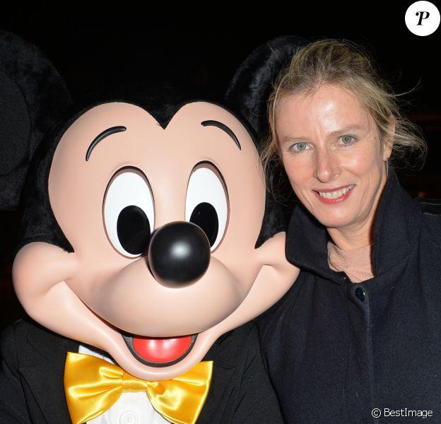 """Karin Viard et Mickey Mouse - Lancement de l'évènement """" BHV loves Mickey"""" au Perchoir à Paris le 7 septembre 2017"""