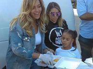 Beyoncé vient en aide aux sinistrés d'Harvey, Blue Ivy à ses côtés