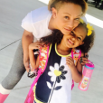 Mel B et sa fille Madison (6 ans) sur une photo publiée sur Instagram le 1er septembre 2017.