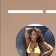 Serena Williams dévoile un montage vidéo de sa grossesse sur Instagram le 13 septembre 2017.