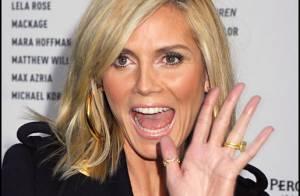 Heidi Klum ouvre le bal des beautés à New York...