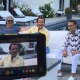 """Les coulisses du tournage du documentaire """"Vif the movie"""", retraçant le parcours de Christian Audigier et son combat contre le cancer."""