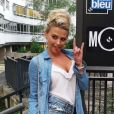 """Kelly Vedovelli, nouvelle recrue de """"Touche pas à mon poste"""" (C8), se dévoile sexy sur les réseaux sociaux."""