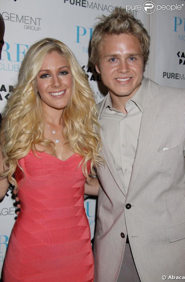Heidi Montag et son mari Spencer Pratt à la soirée du Caesar Palace à Las Vegas