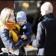 Natalia Vodianova et sa famille... Justin Portman son mari, et fille Neva