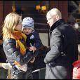 Natalia Vodianova et sa famille... Justin Portman son mari, et leurs deux enfants Lucas et Neva