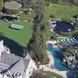Le manoir Playboy de Hugh Hefner à Los Angeles - 2014