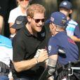 Le prince Harry assiste à l'épreuve de golf lors des InvictusGames 2017 à Toronto. Le 26 septembre 2017