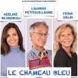Affiche de la pièce de théâtre 'Le Chameau Bleu'