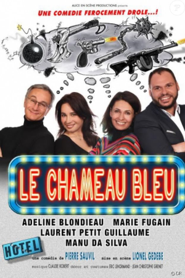 Affiche du spectacle Le Chameau bleu